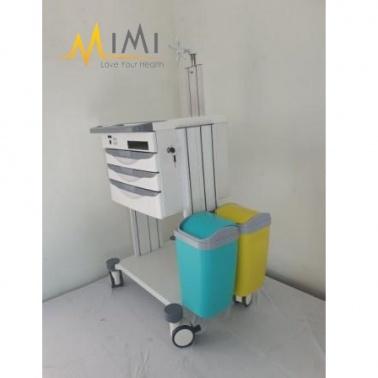 Xe đẩy điều dưỡng bệnh án điện tử (XKD-002)